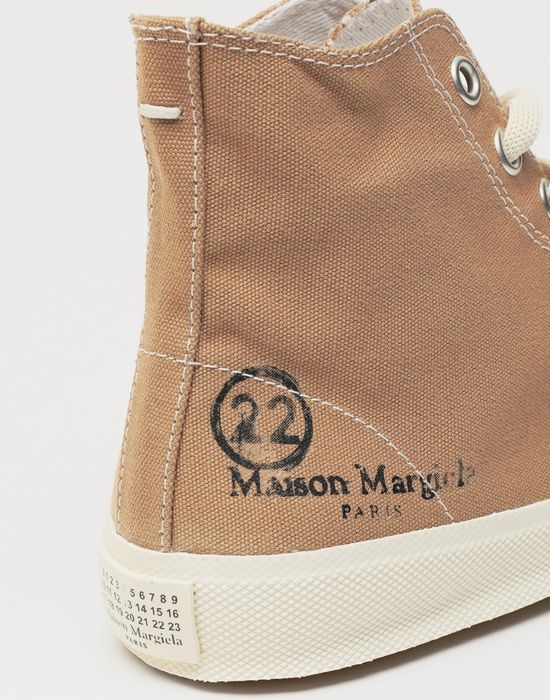 MAISON MARGIELA Tabi high top canvas sneakers Sneakers Tabi [*** pickupInStoreShipping_info ***] a