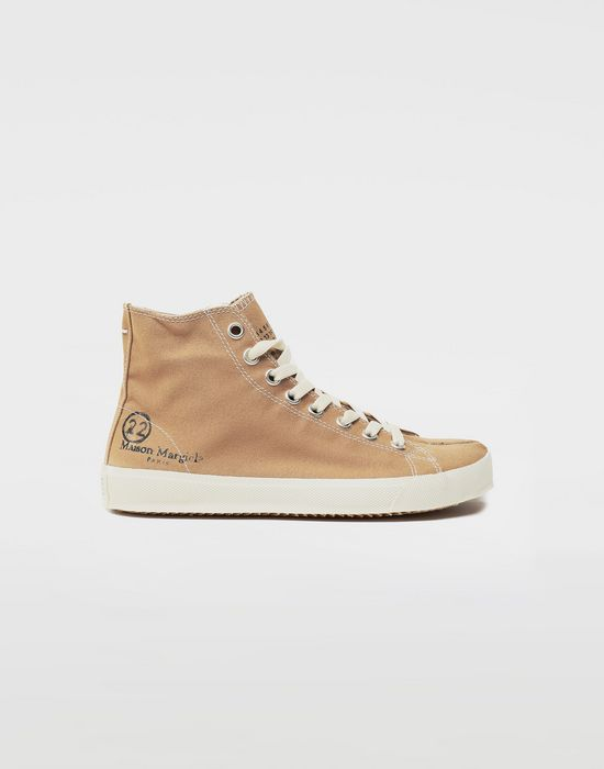 MAISON MARGIELA Tabi high top canvas sneakers Sneakers Tabi [*** pickupInStoreShipping_info ***] f