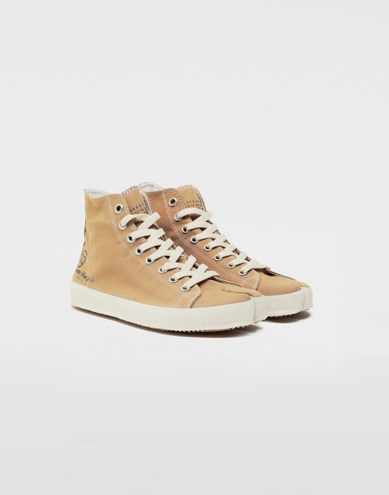 MAISON MARGIELA Tabi high top canvas sneakers Sneakers Tabi [*** pickupInStoreShipping_info ***] r