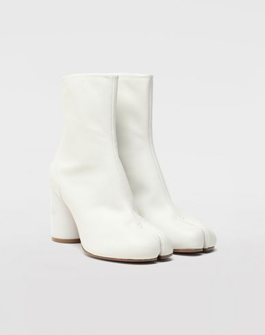 MAISON MARGIELA Tabi boots & Ankle boots Woman Tabi hologram ankle boots r