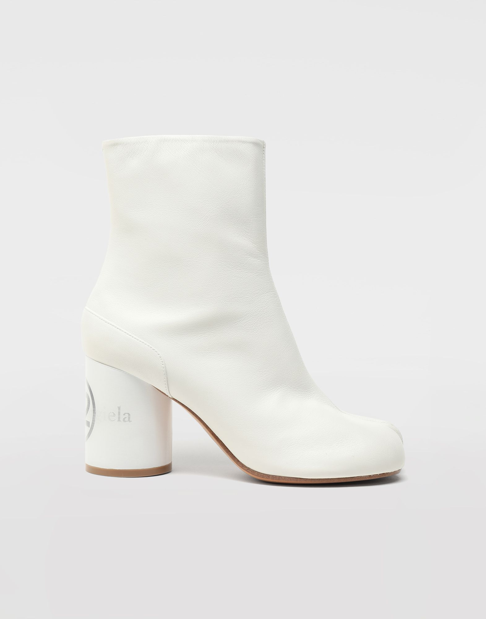 MAISON MARGIELA Tabi hologram ankle boots Tabi boots & Ankle boots Woman f