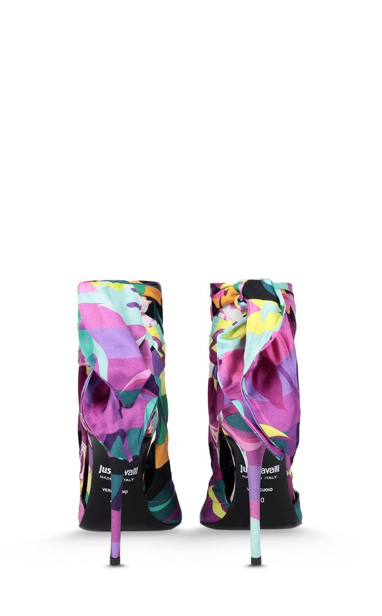JUST CAVALLI Floral-print slingback Pump Woman d