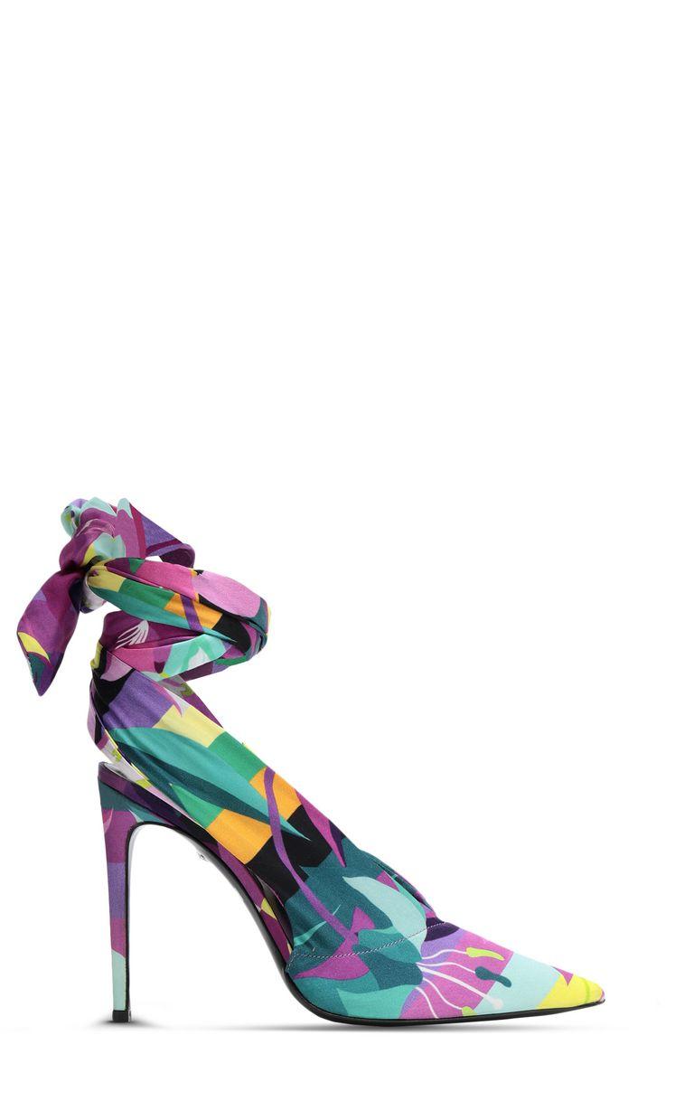 JUST CAVALLI Floral-print slingback Pump Woman f