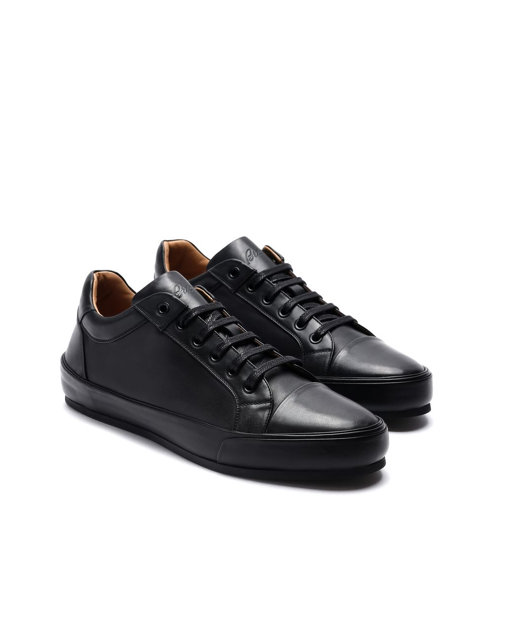 BRIONI Black Sneaker Sneakers Man d