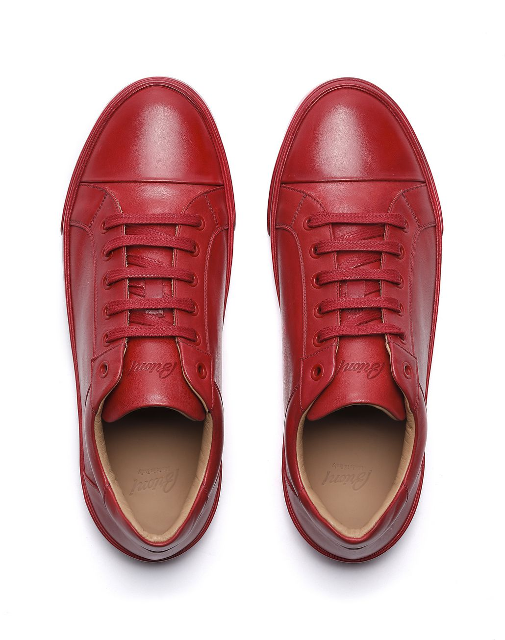 BRIONI Red Sneaker Sneakers [*** pickupInStoreShippingNotGuaranteed_info ***] r