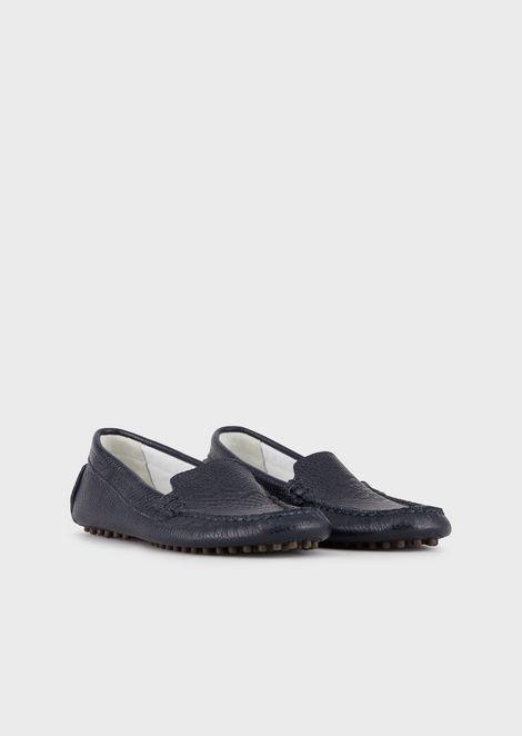 EMPORIO ARMANI Driving Shoes Man r
