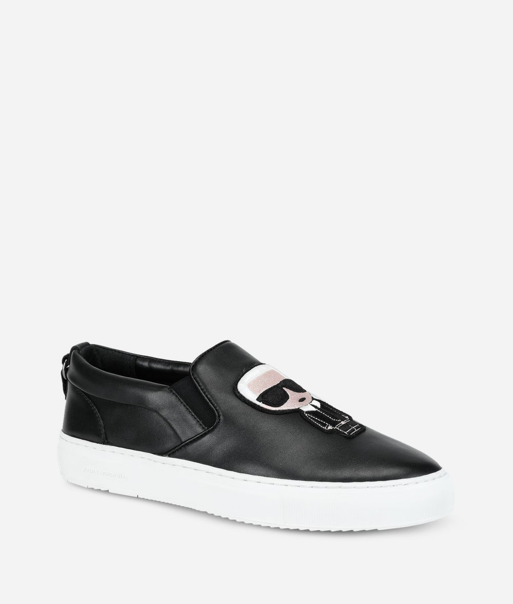KARL LAGERFELD K/Ikonik Kupsole Slip-On Sneakers Man f