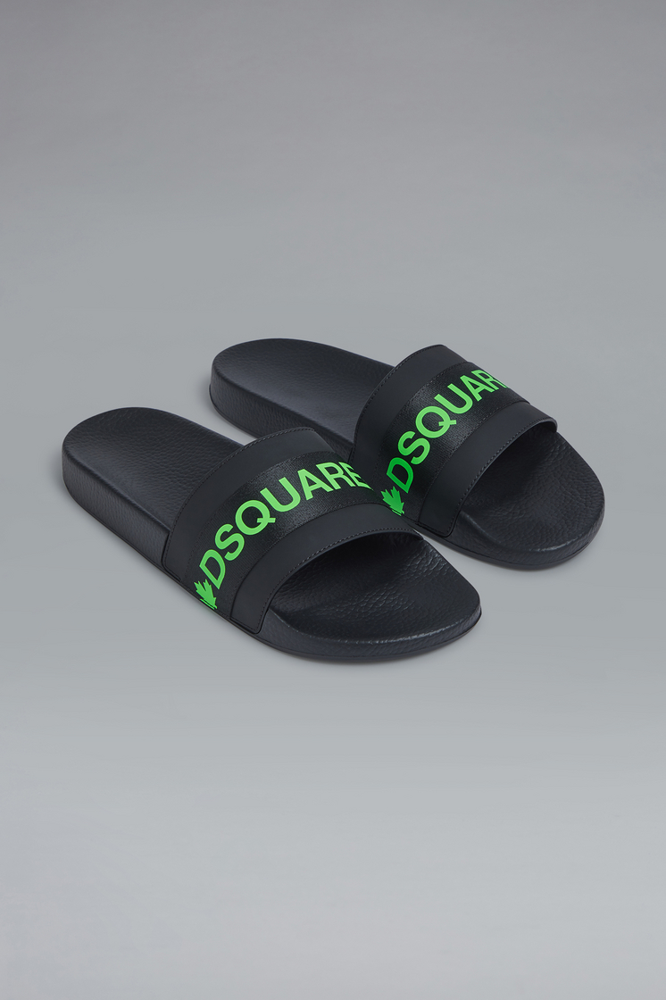DSQUARED2 Acid Glam Punk Tape Slides Sandal Man