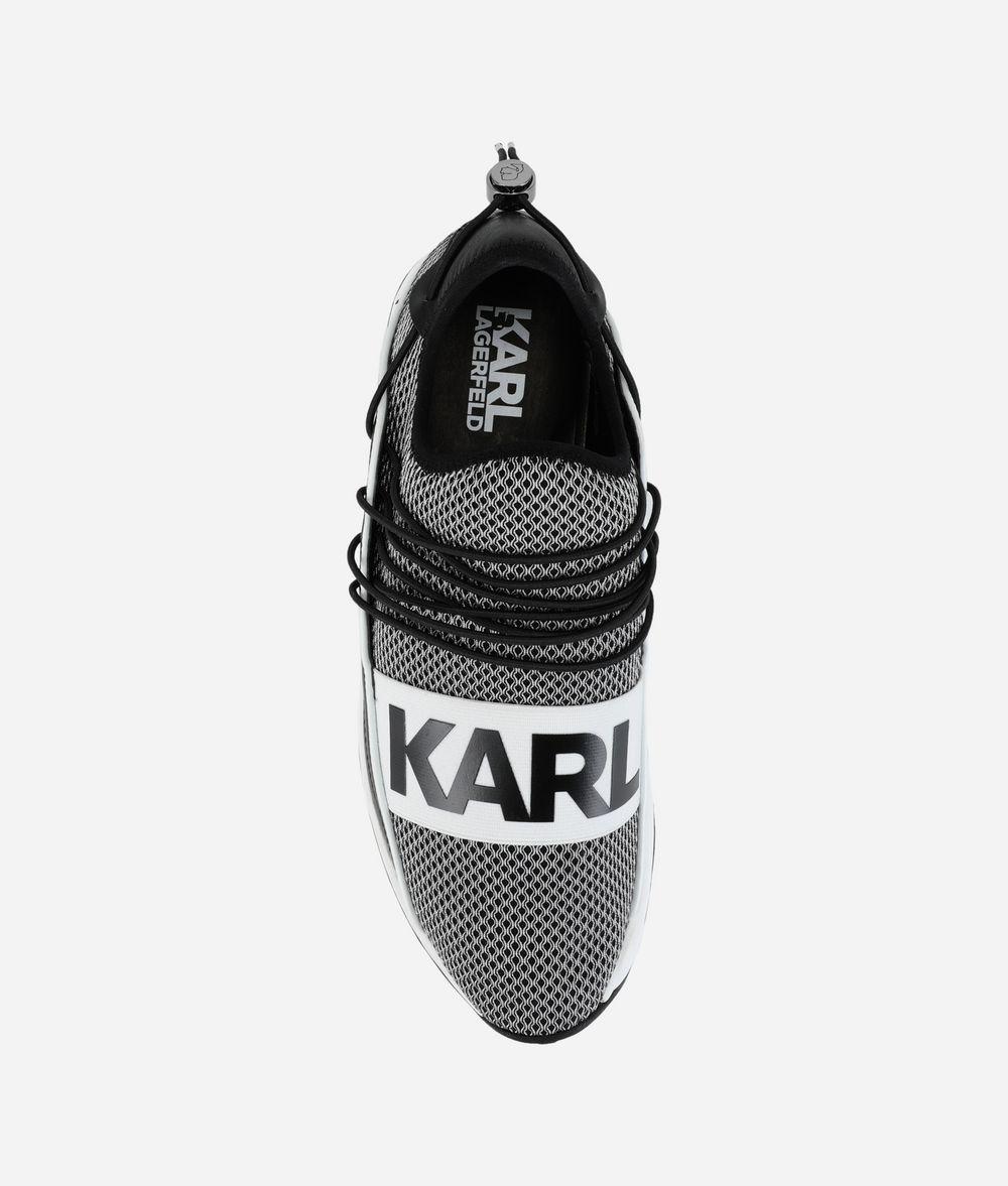 KARL LAGERFELD Vektor Karl Pull-On Runner Sneakers Man d