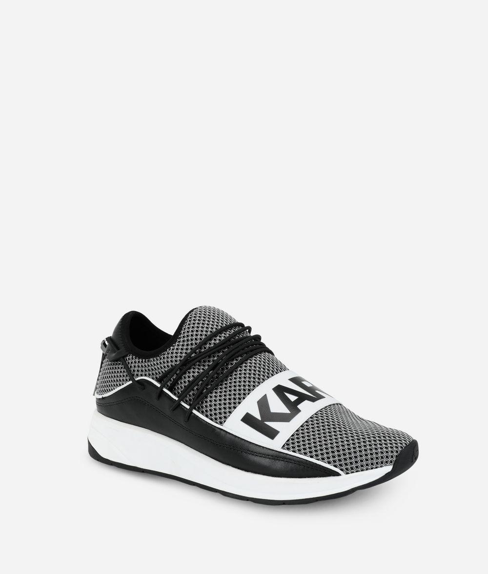 KARL LAGERFELD Vektor Karl Pull-On Runner Sneakers Man f