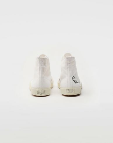 SHOES Tabi high top canvas sneakers