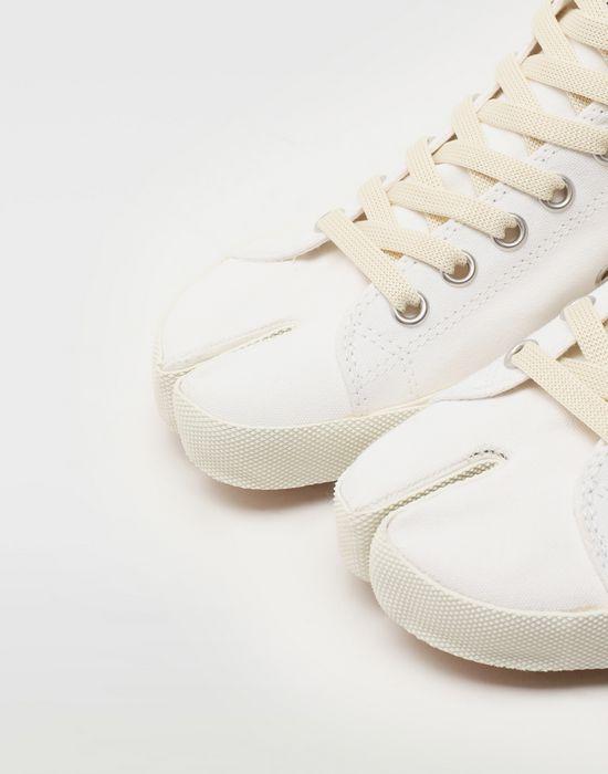 MAISON MARGIELA Tabi high top canvas sneakers Sneakers Tabi [*** pickupInStoreShipping_info ***] e