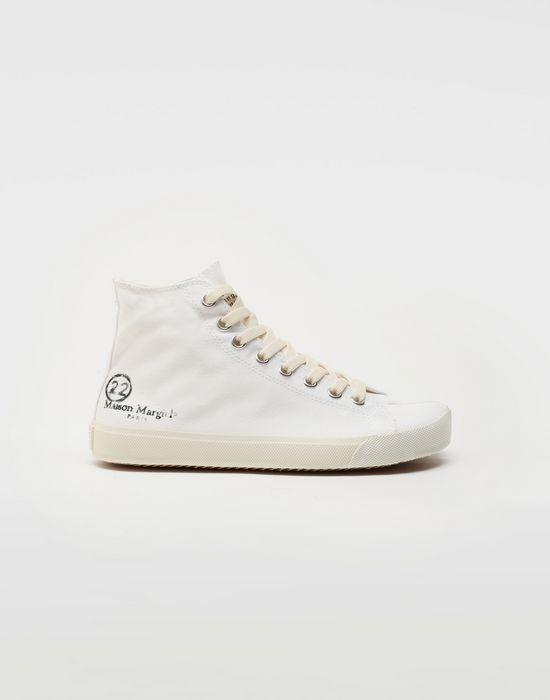 MAISON MARGIELA Tabi high top canvas sneakers Sneakers Tabi [*** pickupInStoreShipping_info ***] f