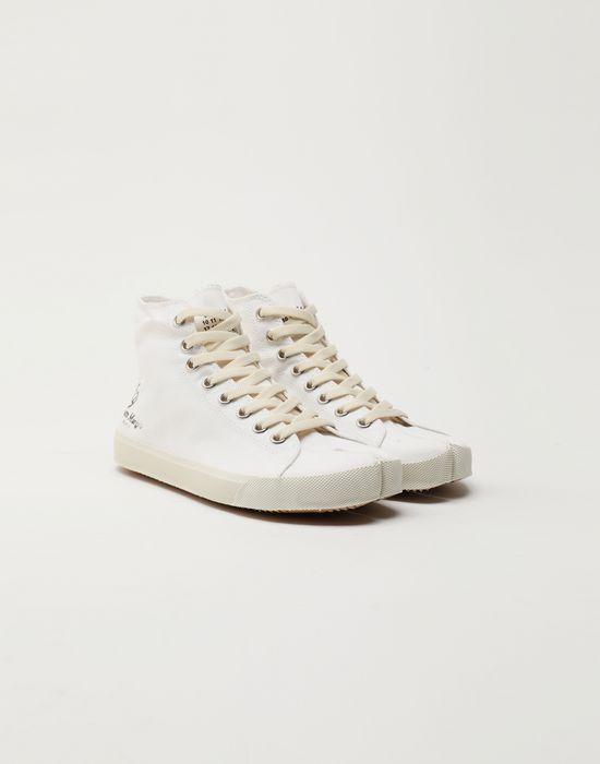 MAISON MARGIELA Tabi high top canvas sneakers Sneakers Tabi [*** pickupInStoreShipping_info ***] r
