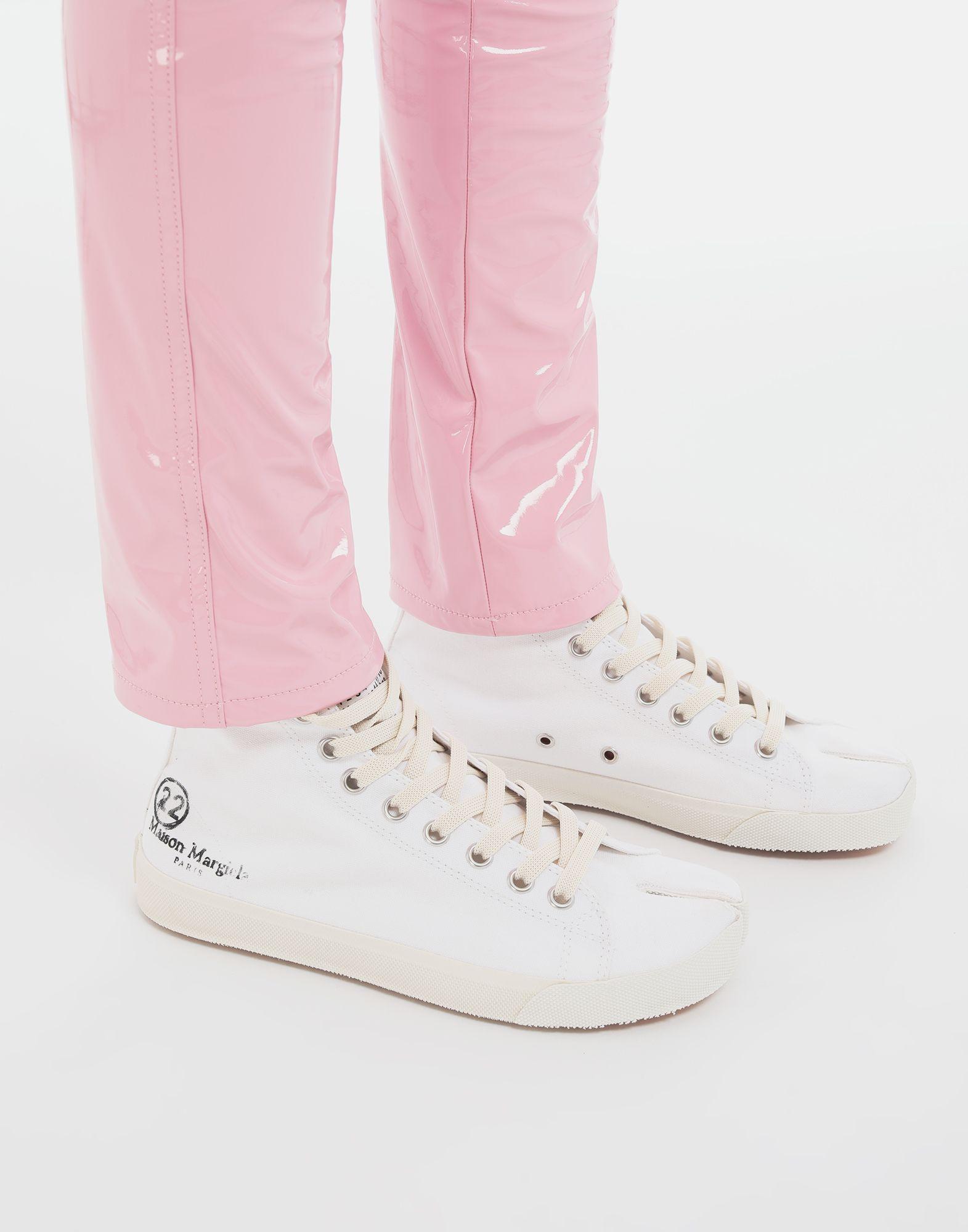 MAISON MARGIELA Tabi high top canvas sneakers Sneakers Tabi Woman b
