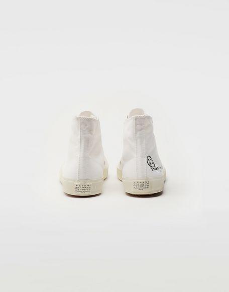 MAISON MARGIELA Tabi high top canvas sneakers Sneakers Tabi Woman d