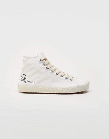 MAISON MARGIELA Tabi high top canvas sneakers Sneakers Tabi Woman f