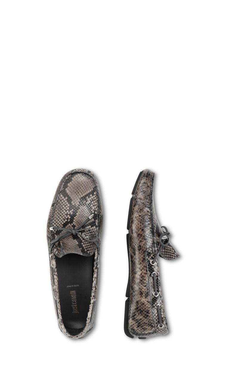 JUST CAVALLI Python loafer Moccassins Man d