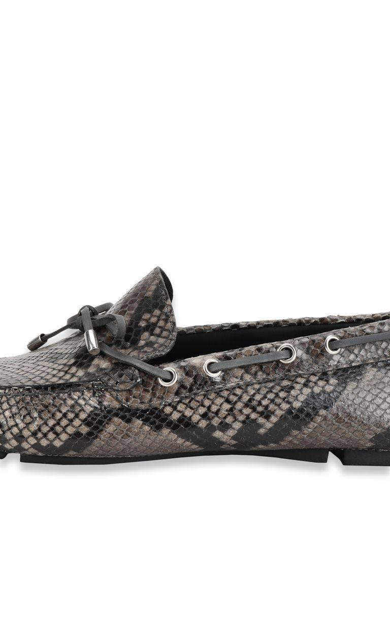 JUST CAVALLI Python loafer Moccassins Man e