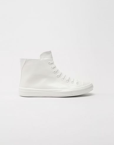 MAISON MARGIELA Plastic casing high-top sneakers Sneakers [*** pickupInStoreShippingNotGuaranteed_info ***] f