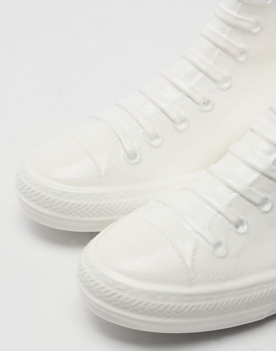 MAISON MARGIELA Plastic casing high-top sneakers Sneakers [*** pickupInStoreShippingNotGuaranteed_info ***] a