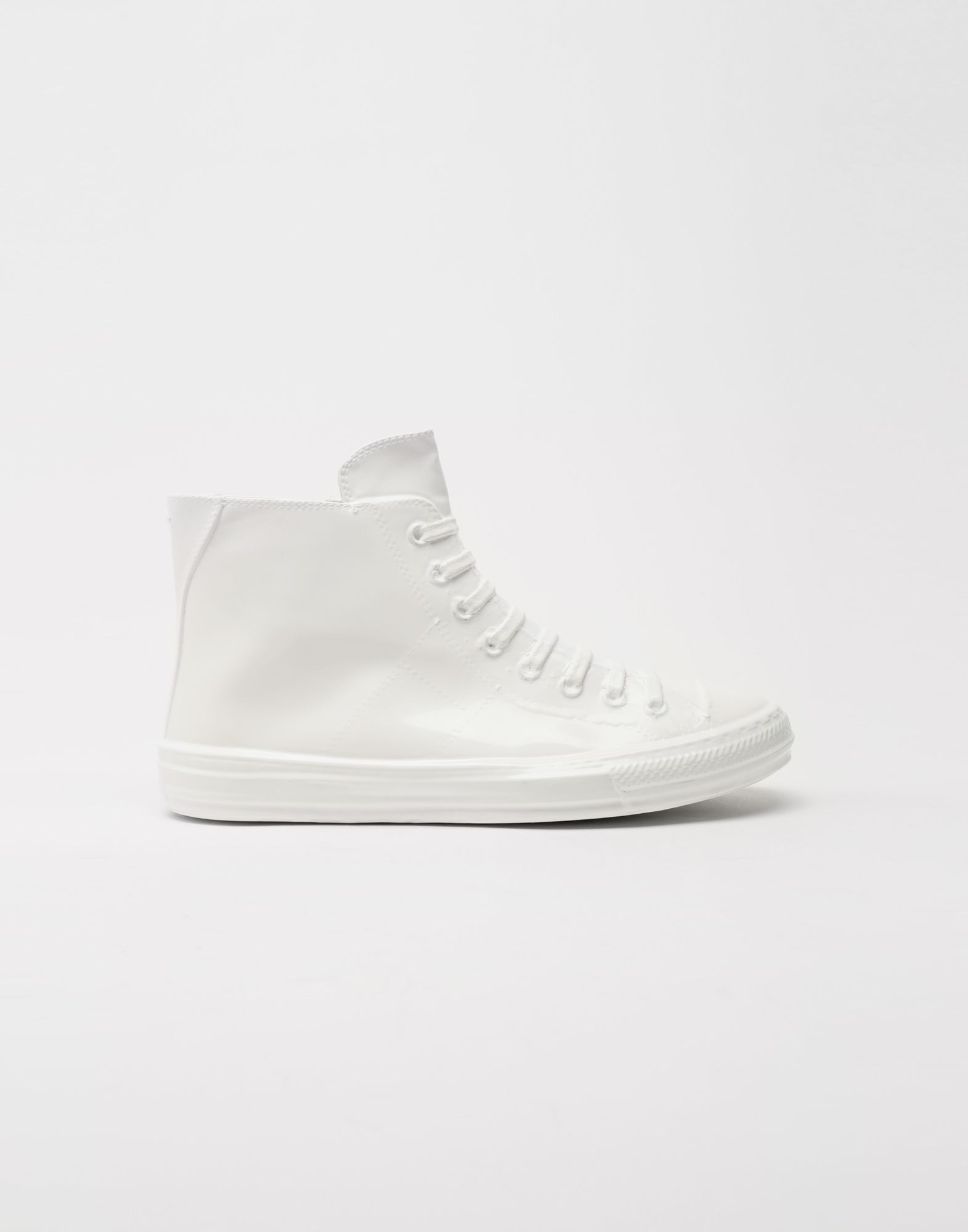 MAISON MARGIELA Plastic casing high-top sneakers Sneakers Man f