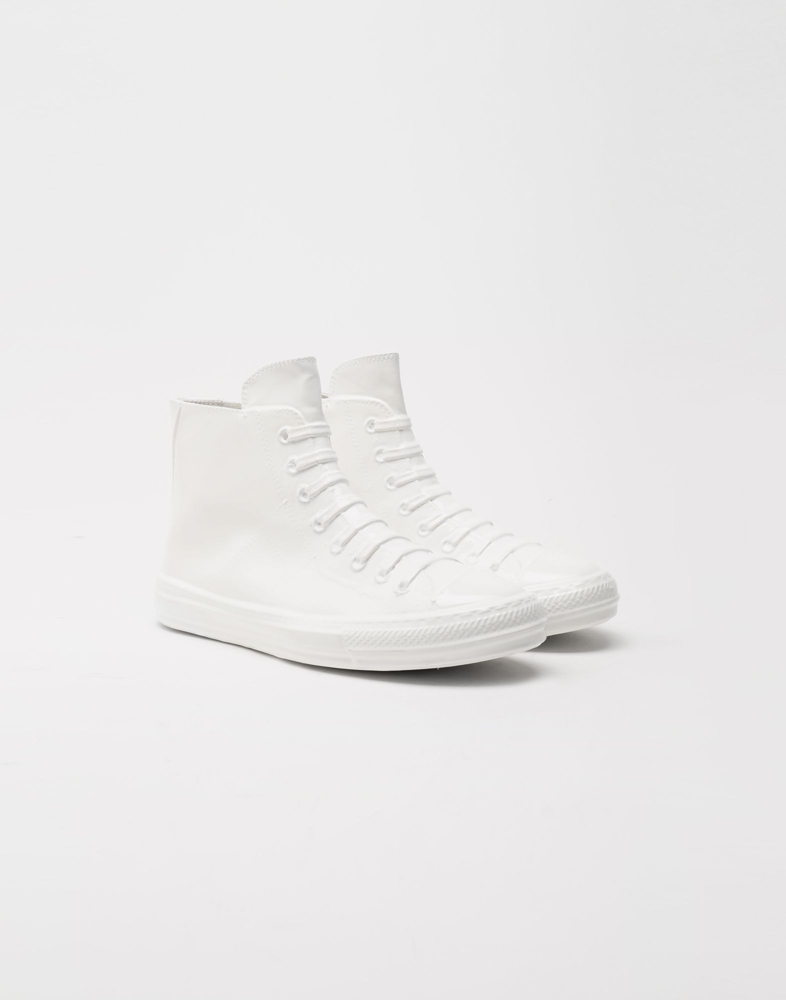 MAISON MARGIELA Plastic casing high-top sneakers Sneakers Man r
