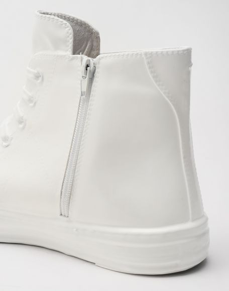MAISON MARGIELA Plastic casing high-top sneakers Sneakers Man e