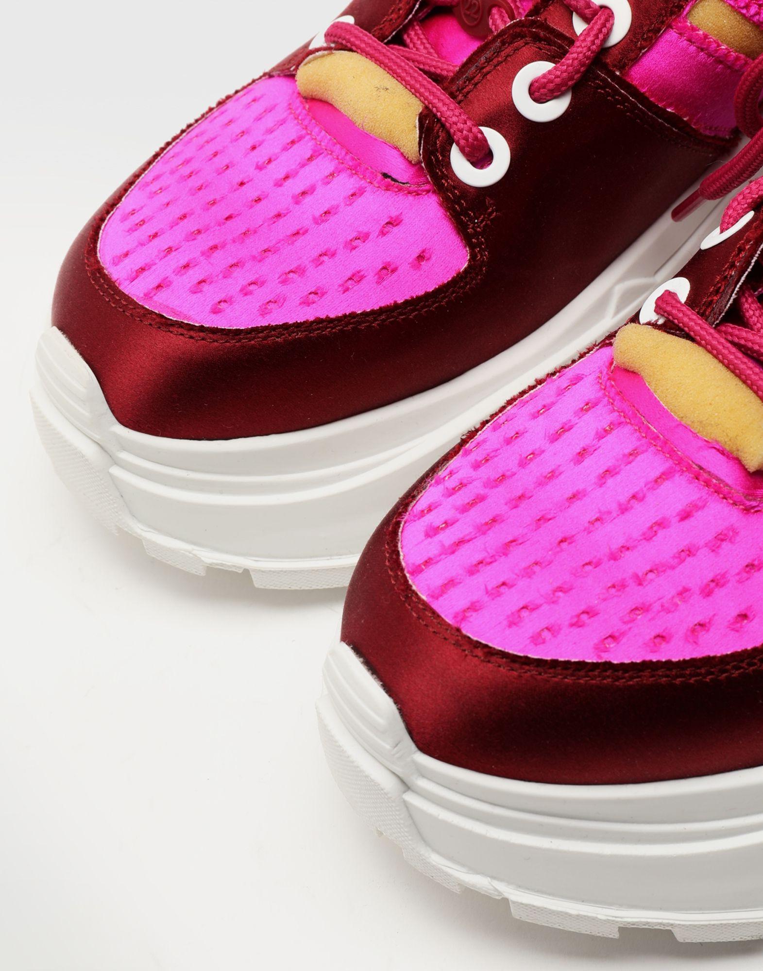 MAISON MARGIELA Retro Fit satin sneakers Sneakers Woman e