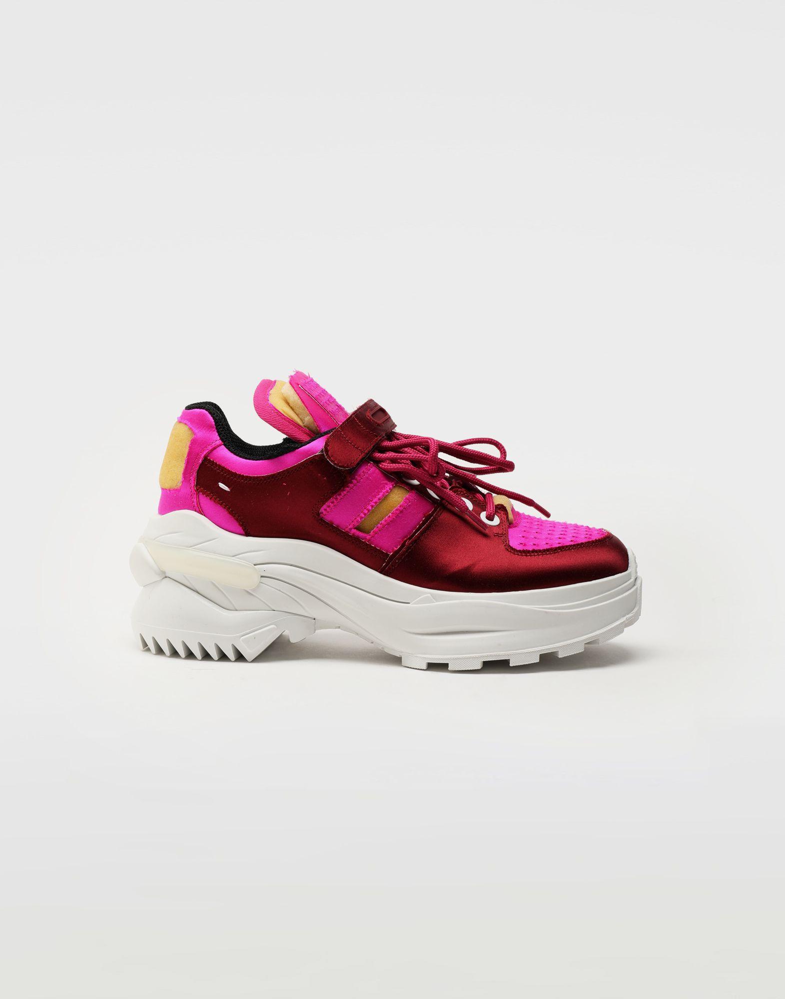 MAISON MARGIELA Retro Fit satin sneakers Sneakers Woman f