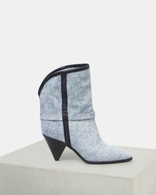 ISABEL MARANT BOOTS Woman LUAM ankle boots d