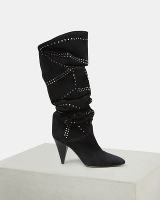 ISABEL MARANT BOOTS Woman LADRA thigh high boots d