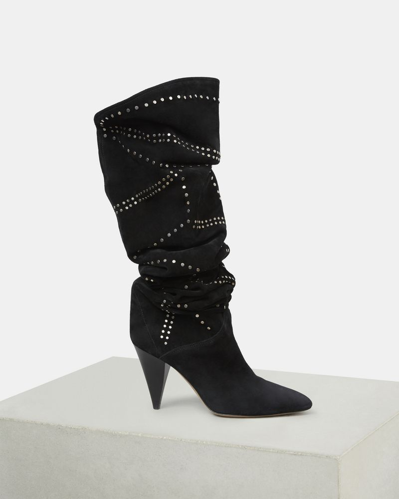 LADRA thigh high boots ISABEL MARANT