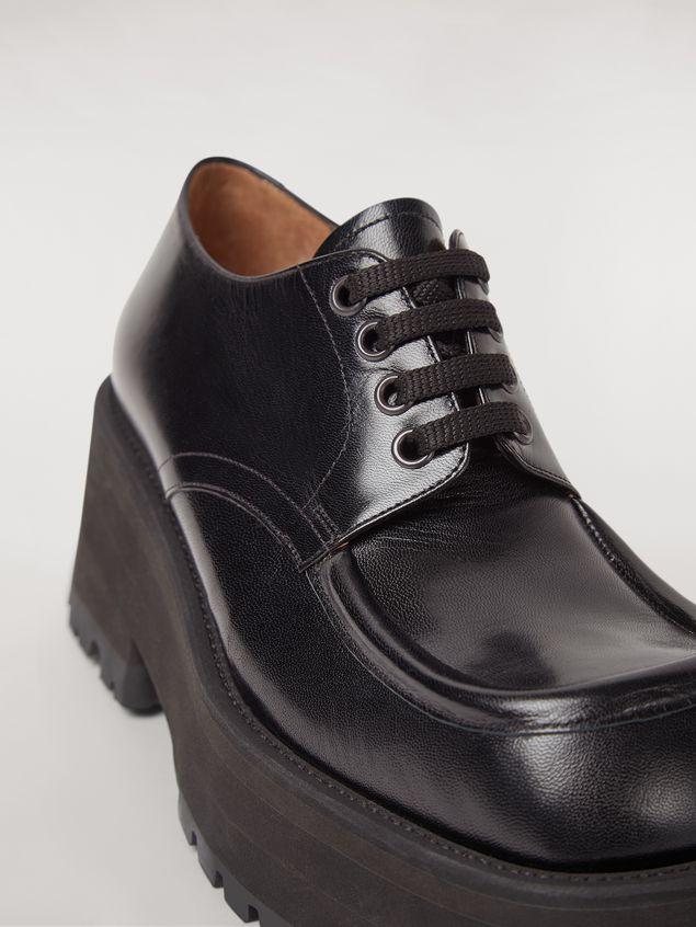 Marni Zapatos con cordones CARRO ARMATO en piel de cordero Mujer - 5