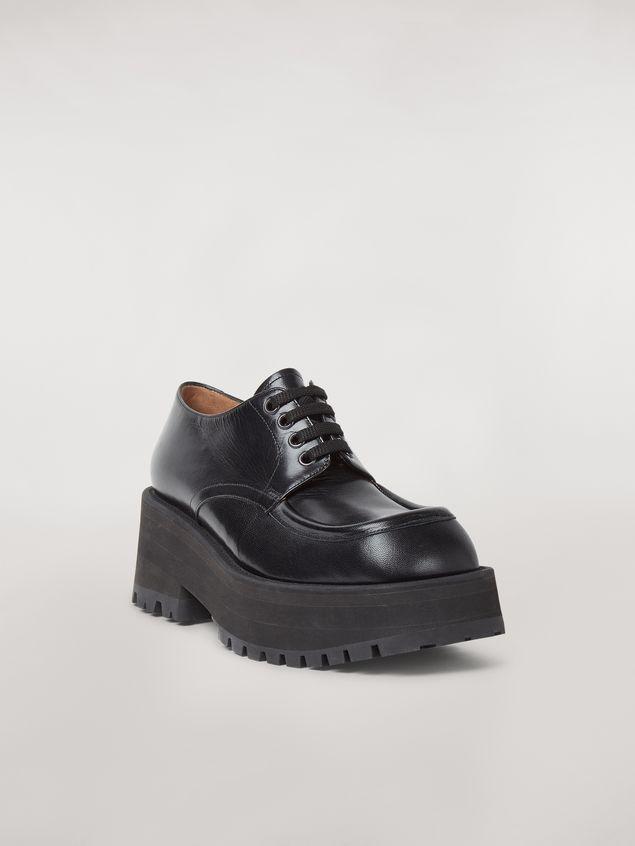 Marni Zapatos con cordones CARRO ARMATO en piel de cordero Mujer - 2