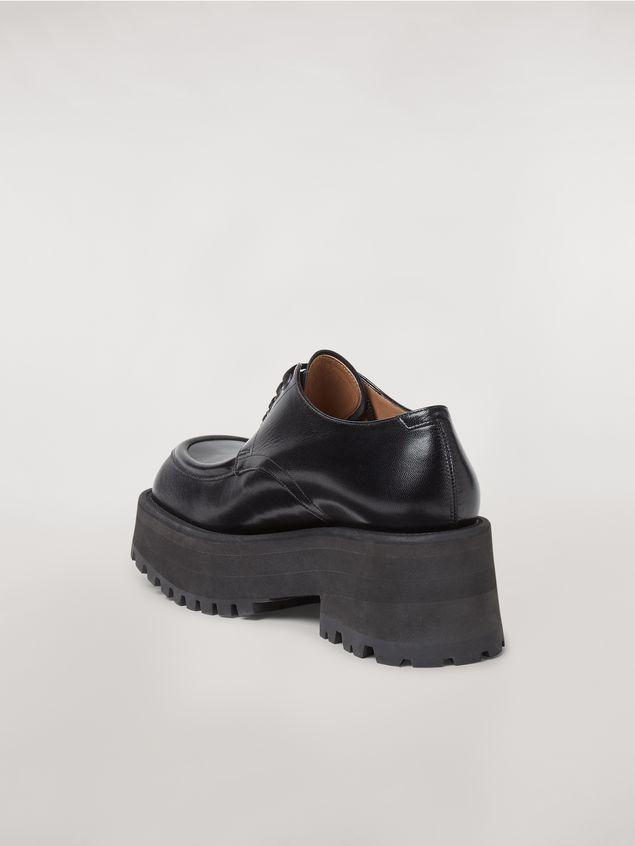Marni Zapatos con cordones CARRO ARMATO en piel de cordero Mujer - 3