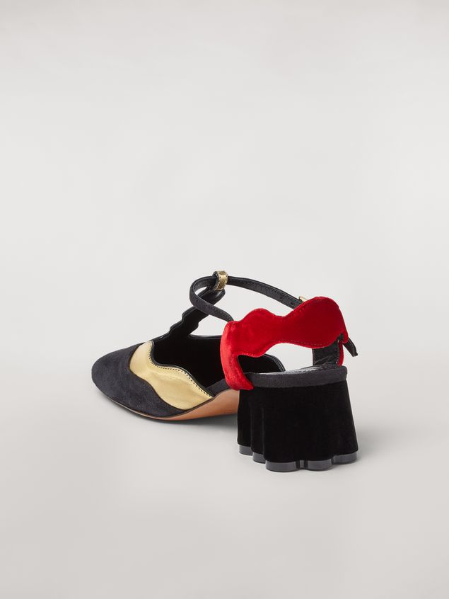Marni TEATRO suede sling back Woman