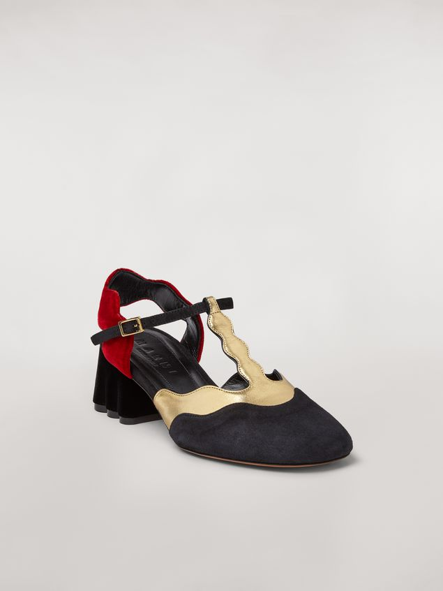 Marni TEATRO suede sling back Woman - 2