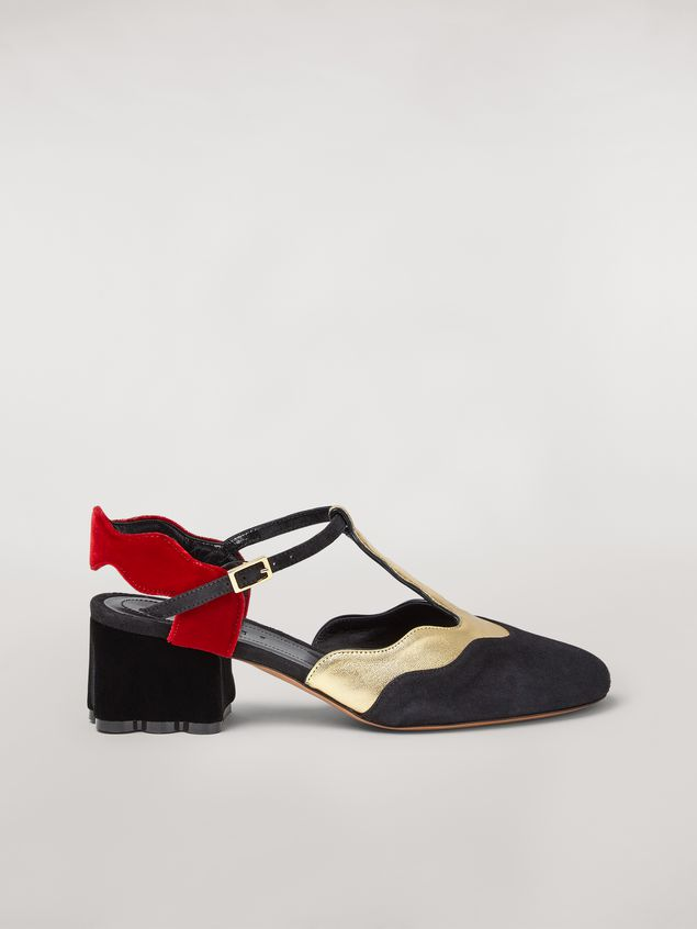 Marni TEATRO suede sling back Woman - 1