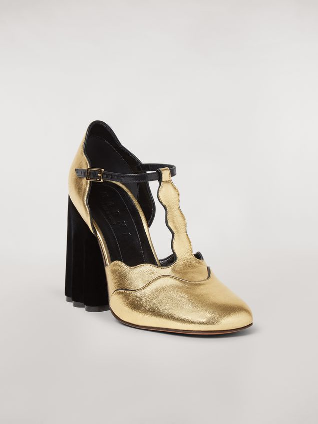 Marni TEATRO pump in laminated nappa Woman - 2