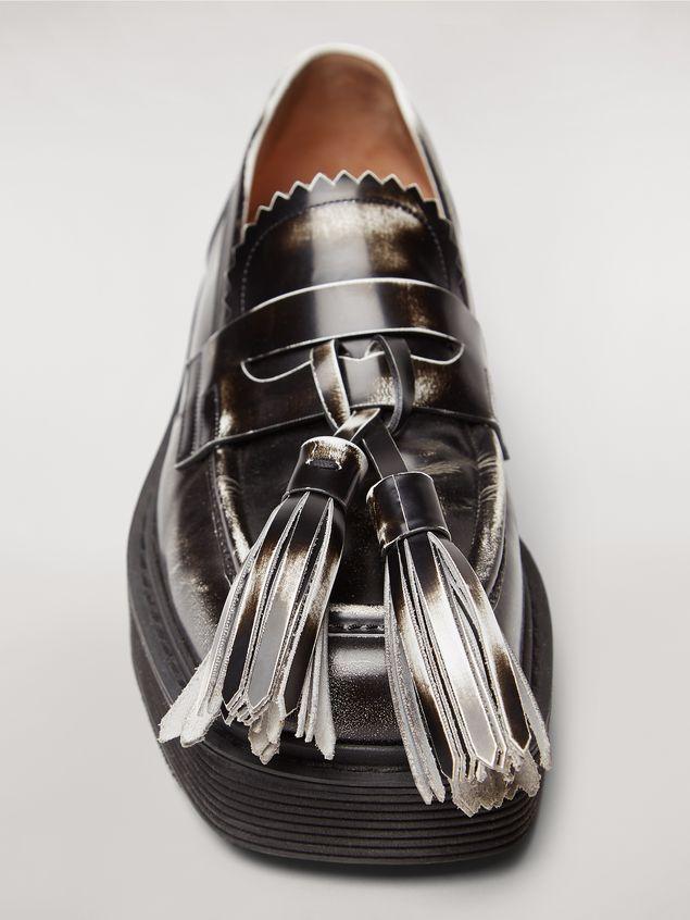 Marni Shiny calfskin tassel moccasin  Man - 5