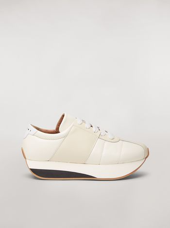 Marni Marni BIG FOOT sneaker in nappa lambskin Man f