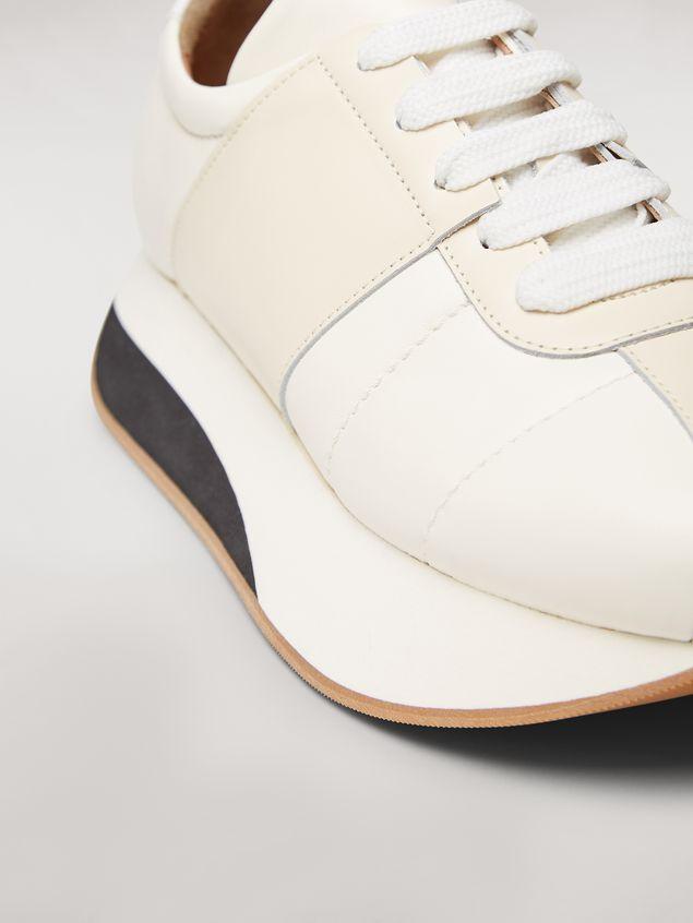 Marni Marni BIG FOOT sneaker in nappa lambskin Man - 5