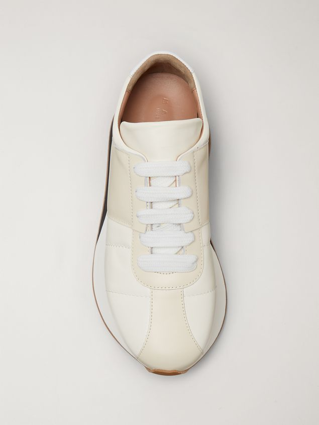 Marni Marni BIG FOOT sneaker in nappa lambskin Man - 4