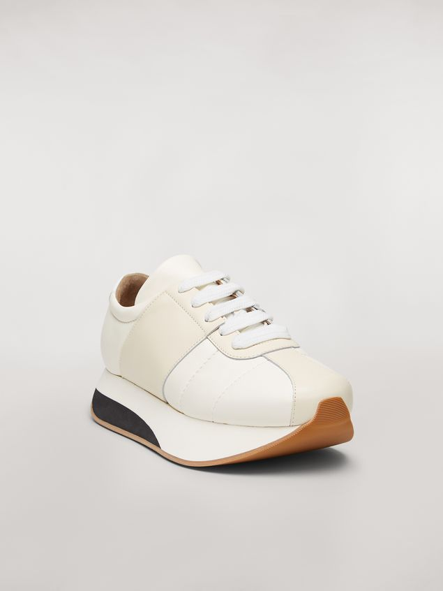 Marni Marni BIG FOOT sneaker in nappa lambskin Man - 2