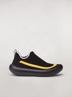 Marni Sneakers Banana de poliéster con detalle en contraste Hombre