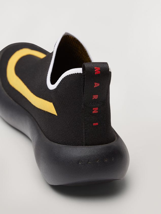 Marni Banana sneaker in polyester with contrast detailing Man - 5
