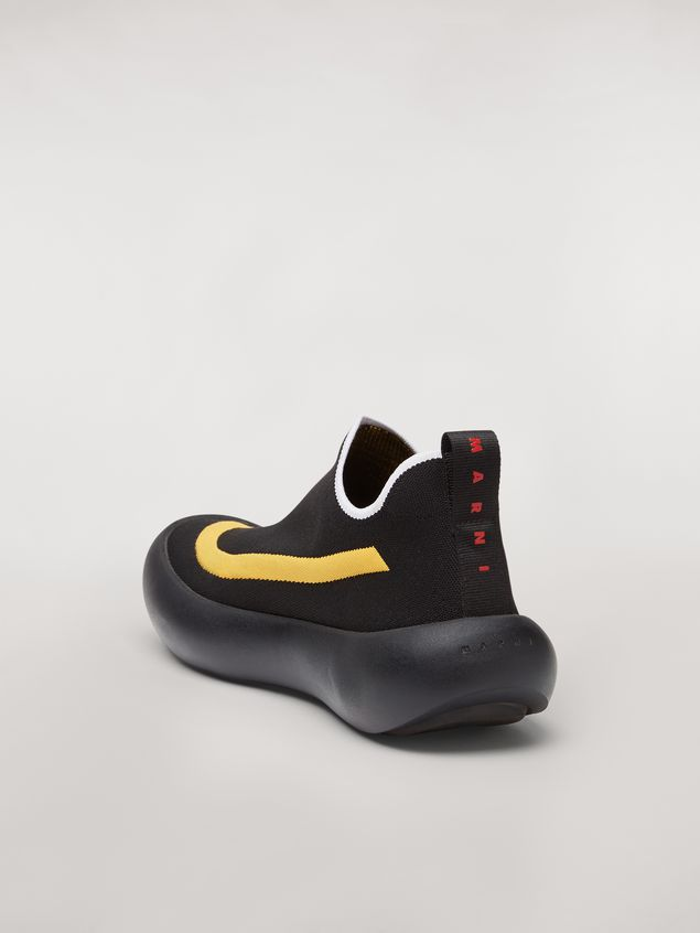 Marni Banana sneaker in polyester with contrast detailing Man - 3