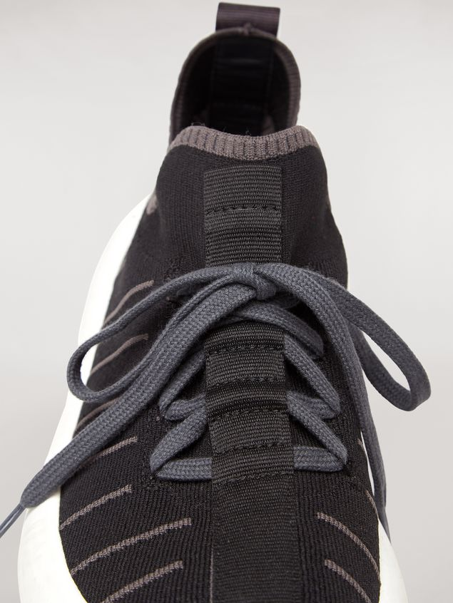 Marni BANANA sneaker in polyester with zig-zag topstitching Man - 5