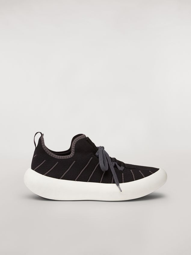 Marni BANANA sneaker in polyester with zig-zag topstitching Man - 1